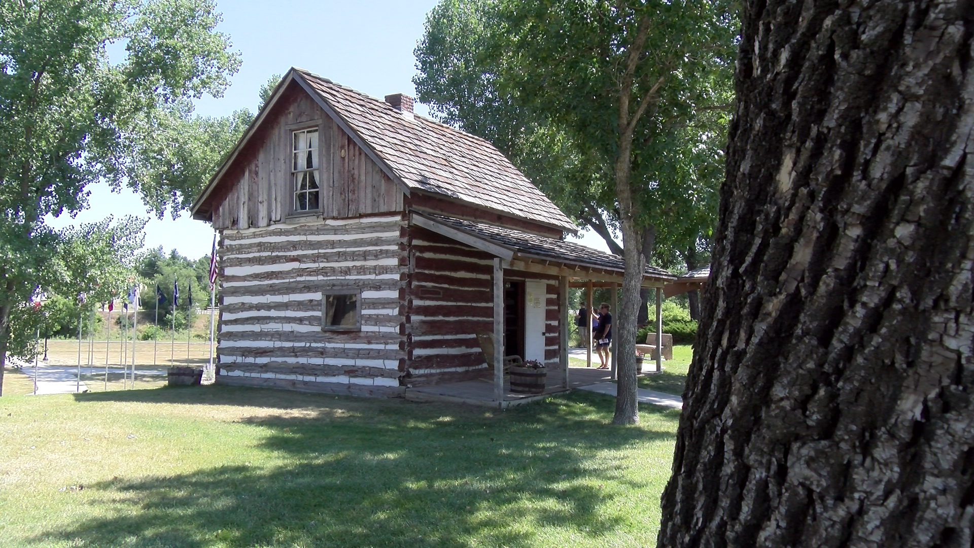 IMAGES OF THE PAST Belle Fourche's Johnny Spaulding Cabin