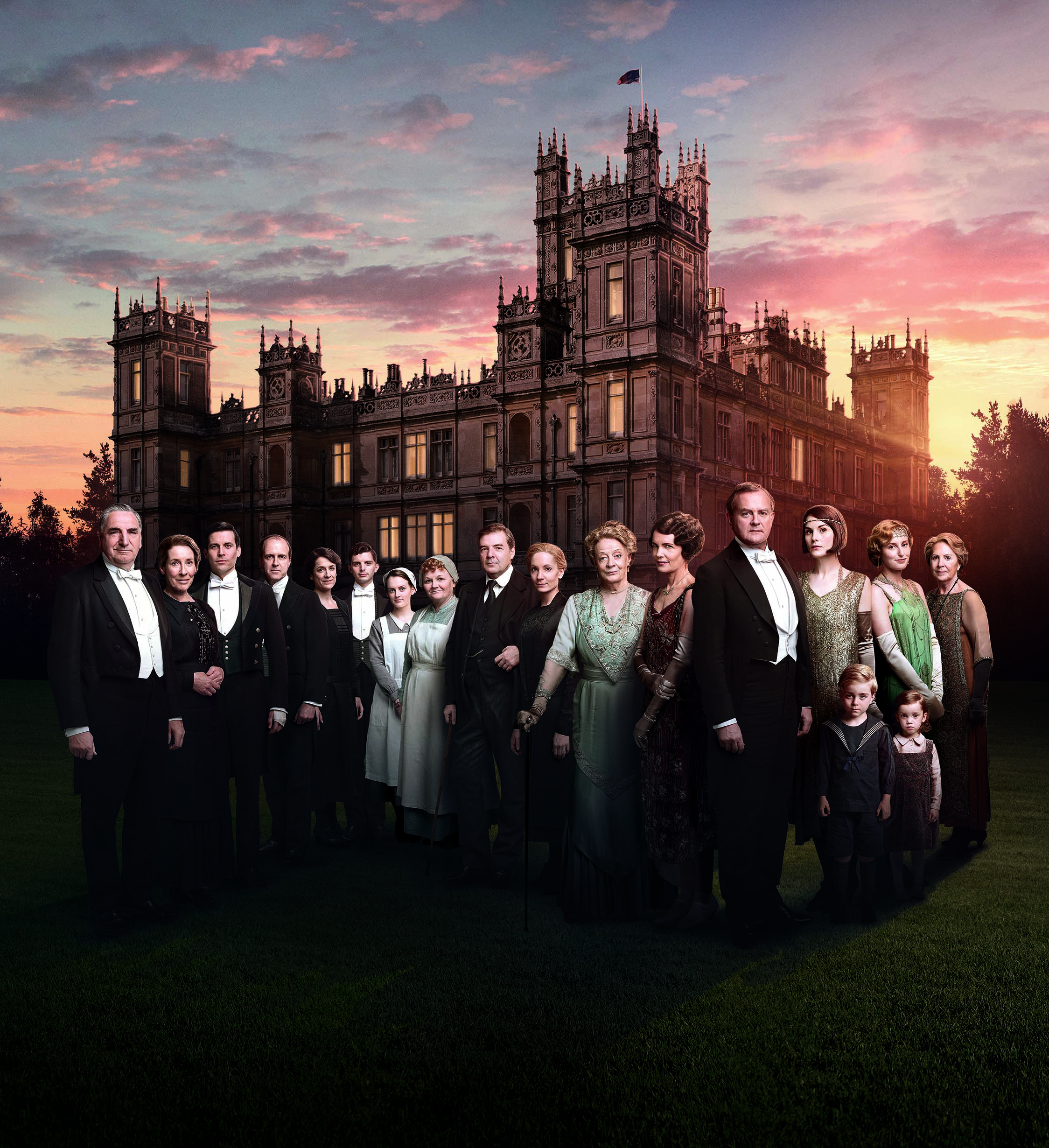 Downton Abbey Season 6 Cast Image