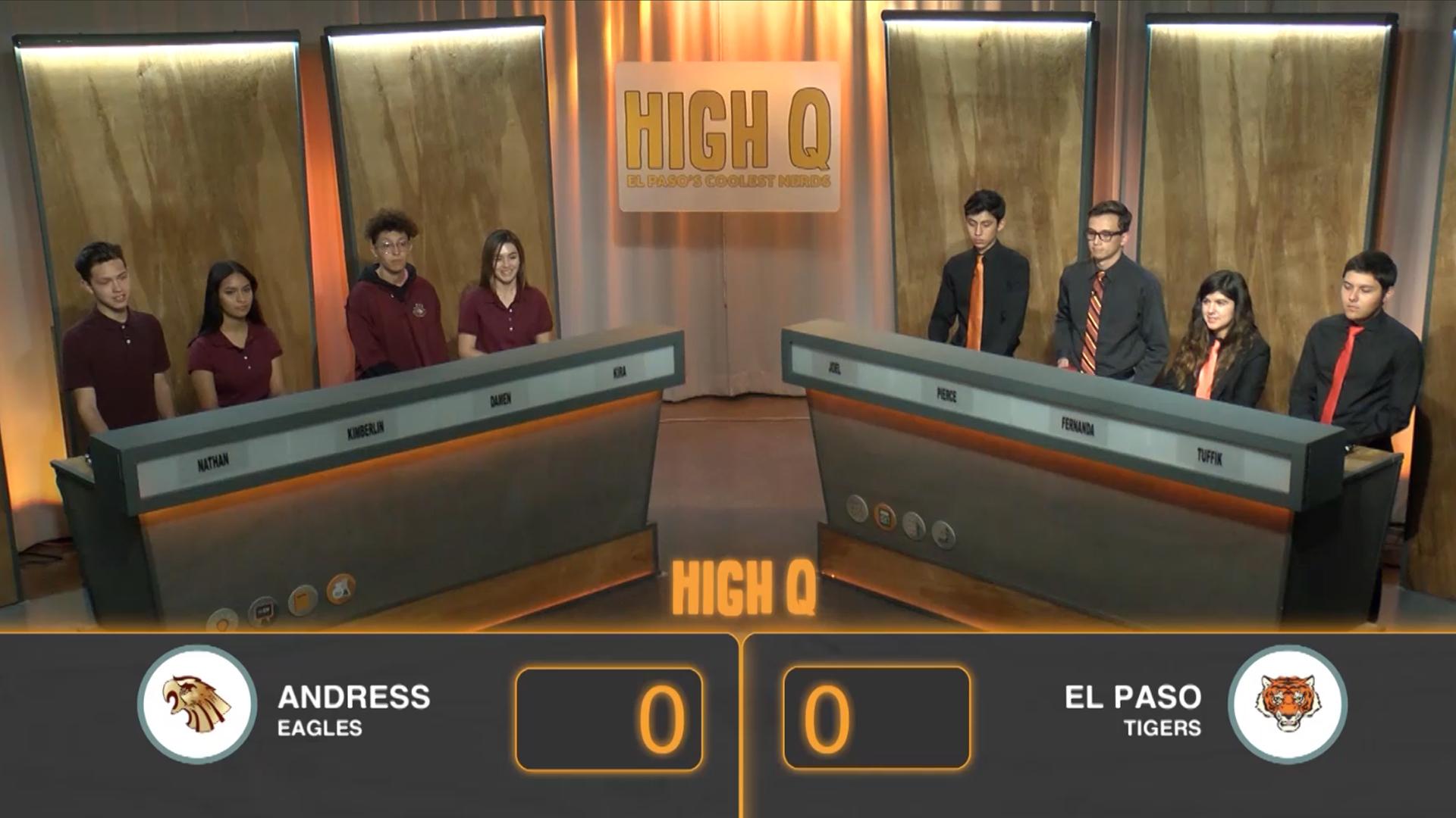 El Paso vs. Andress