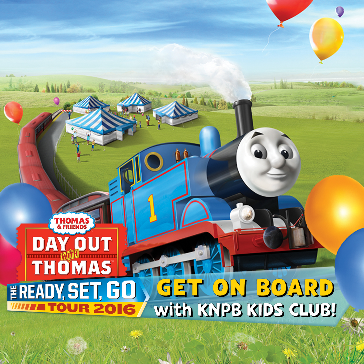 A Day Out with Thomas the Train