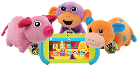 PBS Playtime Pad and Plush