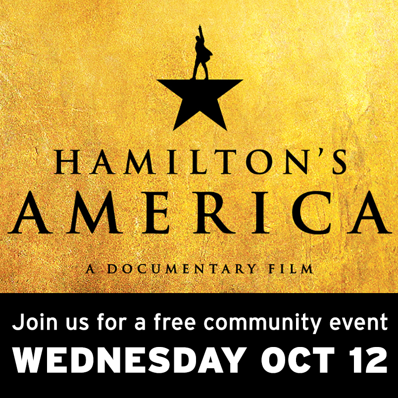 HAMILTON's AMERICA Advance Community Screening