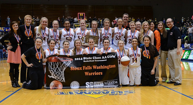 Girls AA State Basketball DVD
