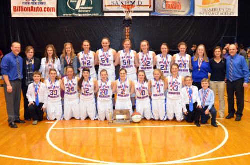 Girls B State Basketball DVD