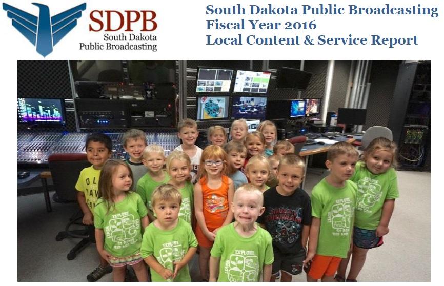 2016 South Dakota CPB Report