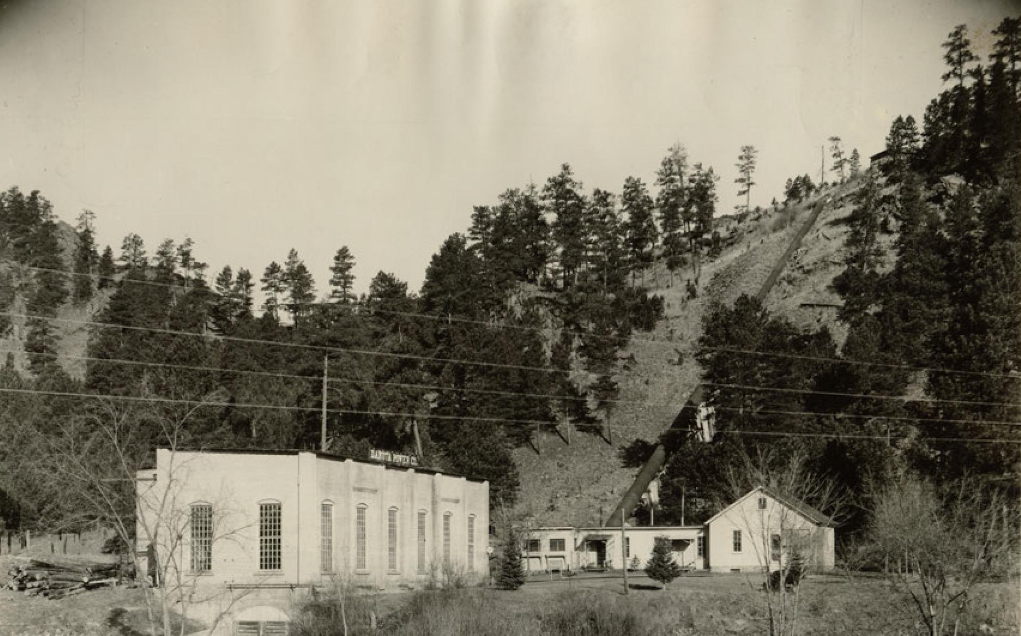 The Big Bend Powerhouse, 1920.