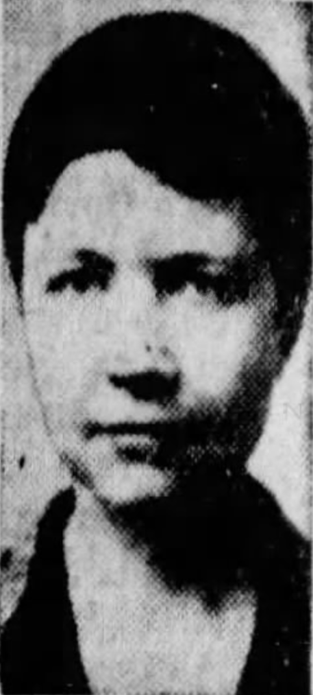 A 1933 newspaper photo of RWL.