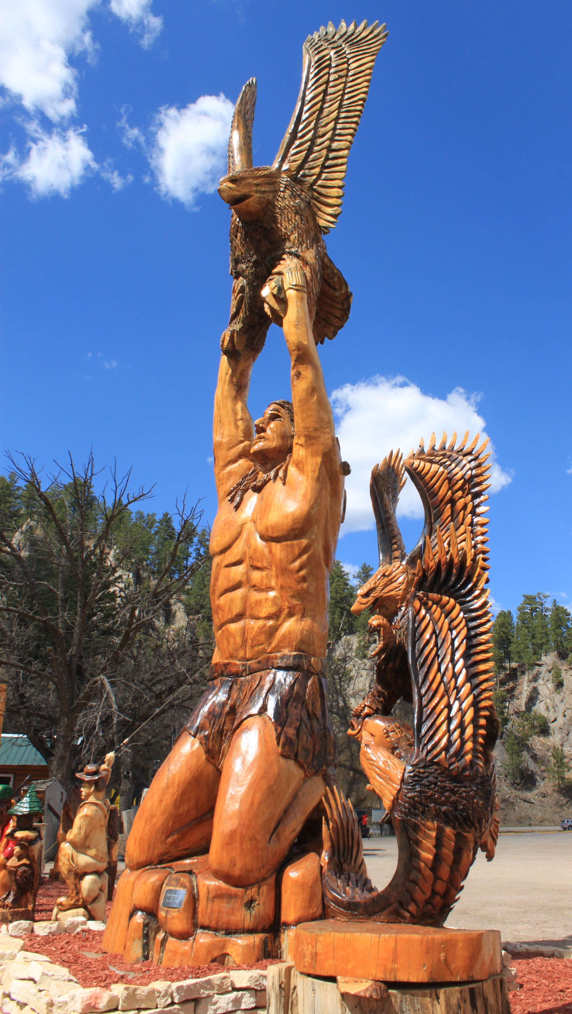 Black hills chainsaw masterpiece dahl s art