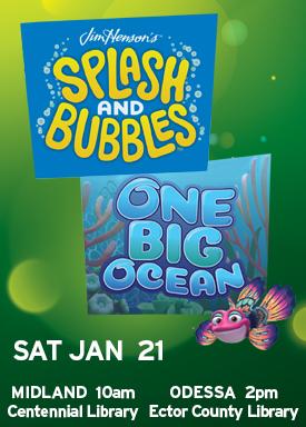 Splash & Bubbles Movie Event