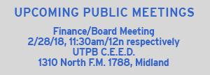 Next Board Meeting 02/25/18