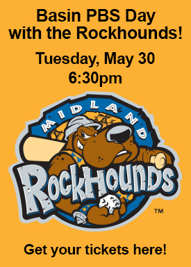 Basin PBS Day with the Rockhounds!