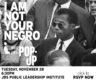 Indie Lens Pop-Up: I Am Not Your Negro