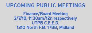 Next Board Meeting 03/07/18