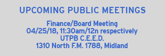 Upcoming Meetings