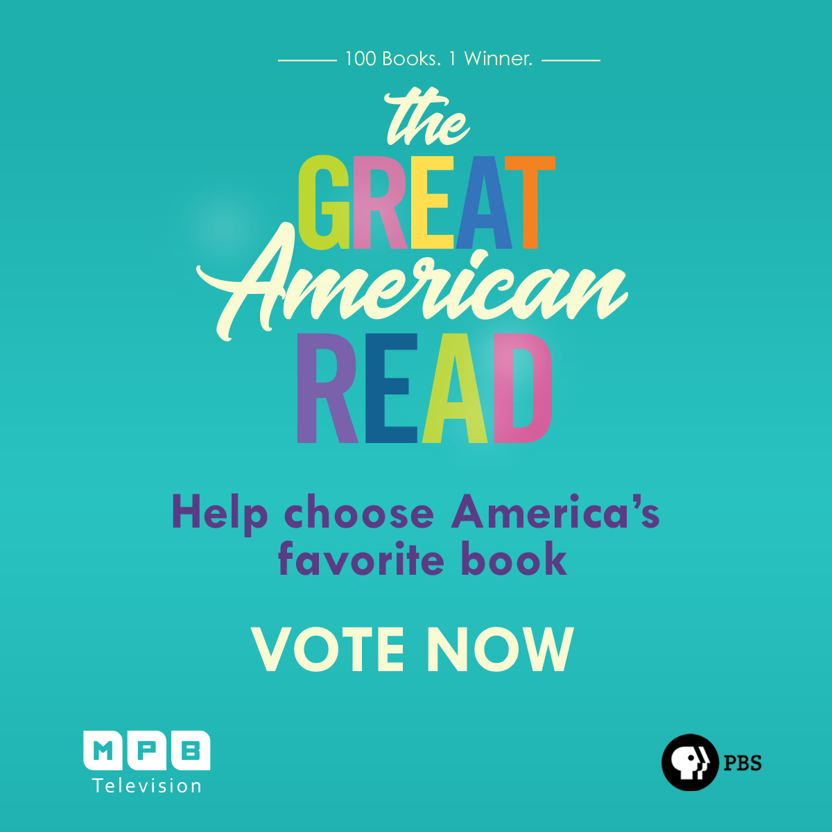 Vote for your favorite book during The Great American Read