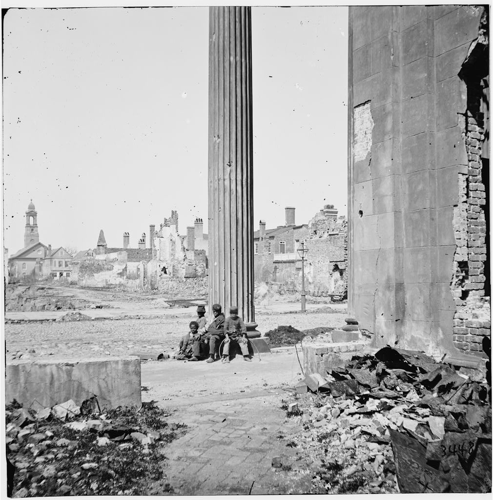 Charleston, S.C. View of ruined buildings, 1865