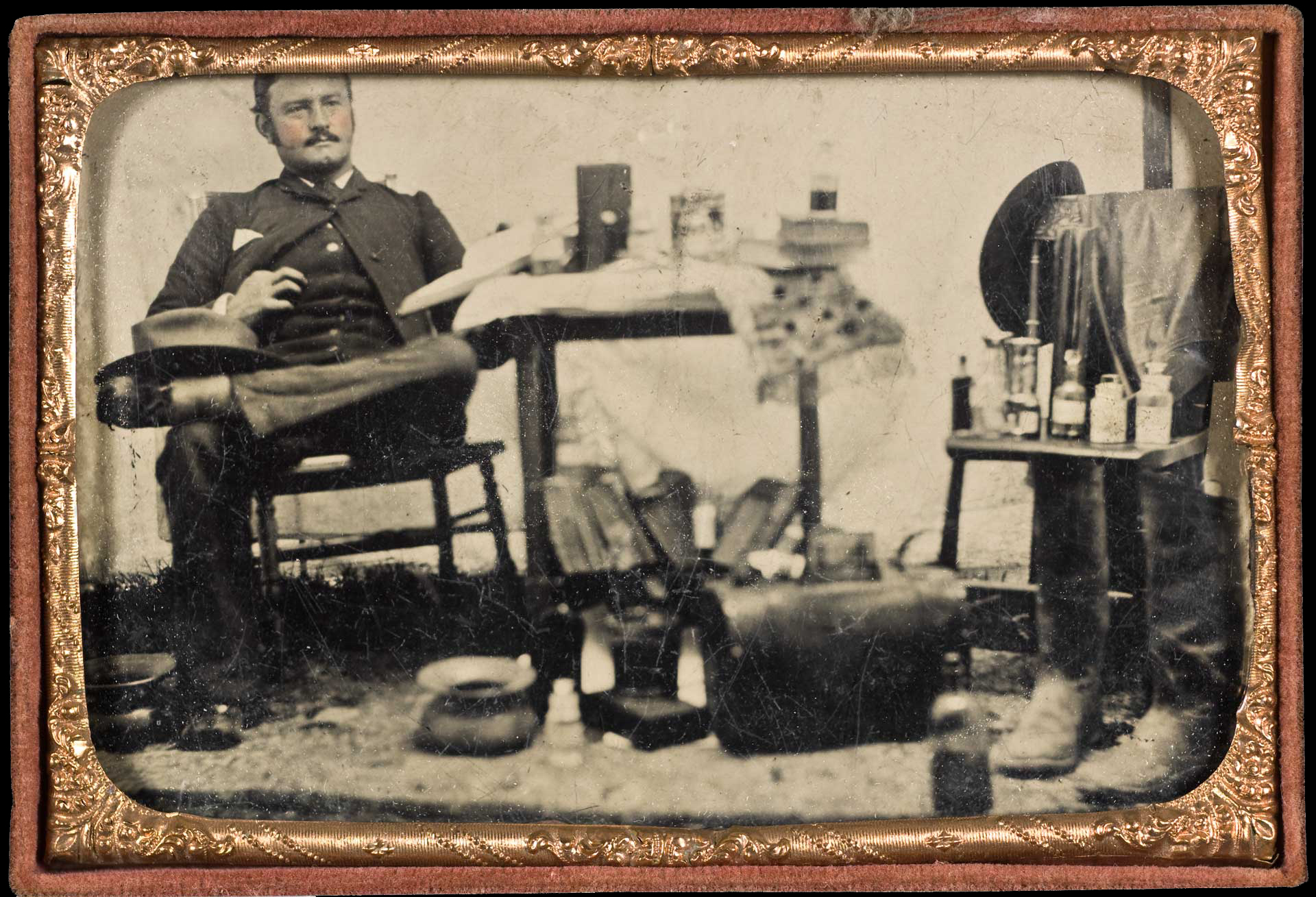 Behind the Lens | Civil War Medical Practice