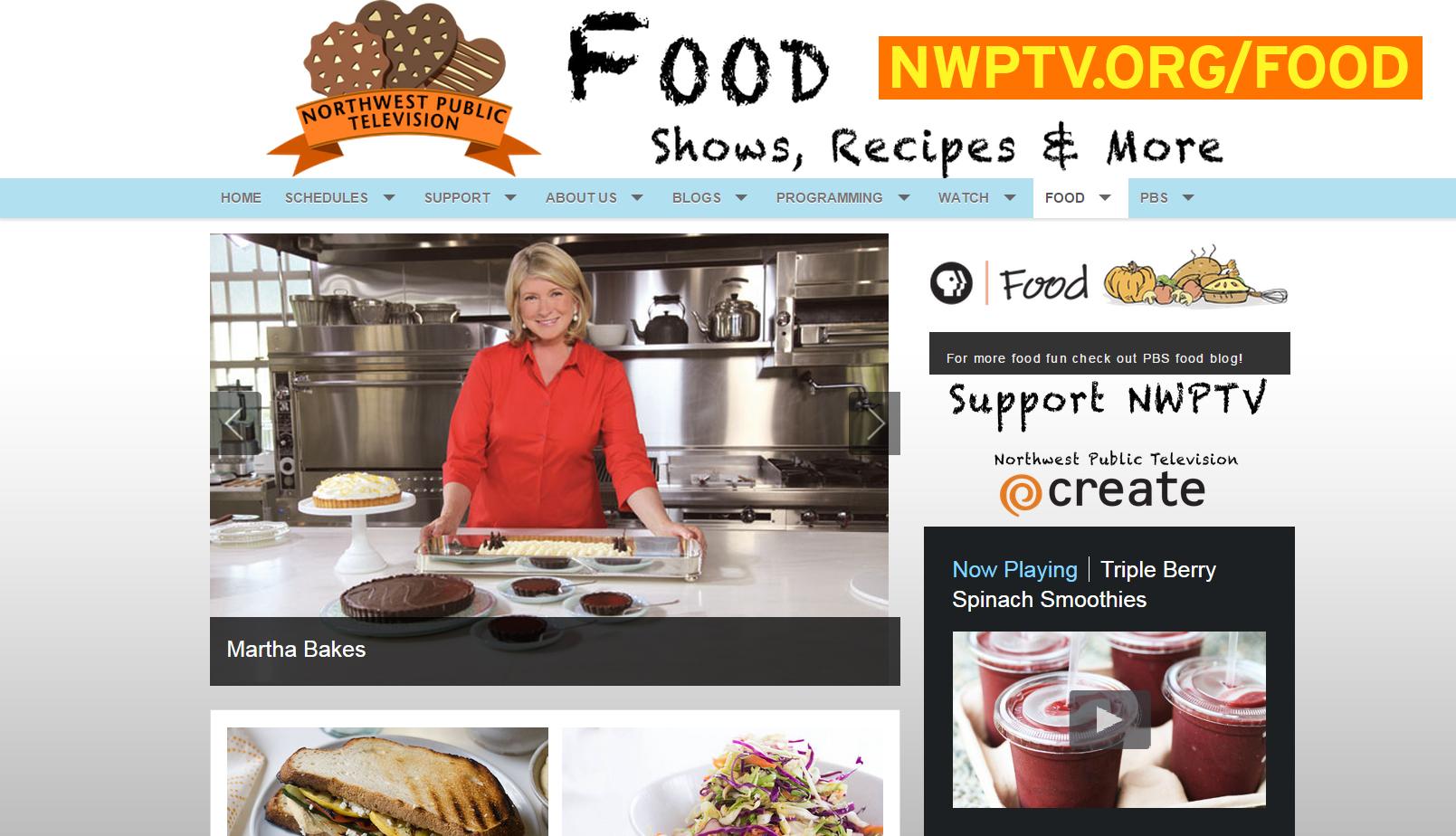 NWPTV Food