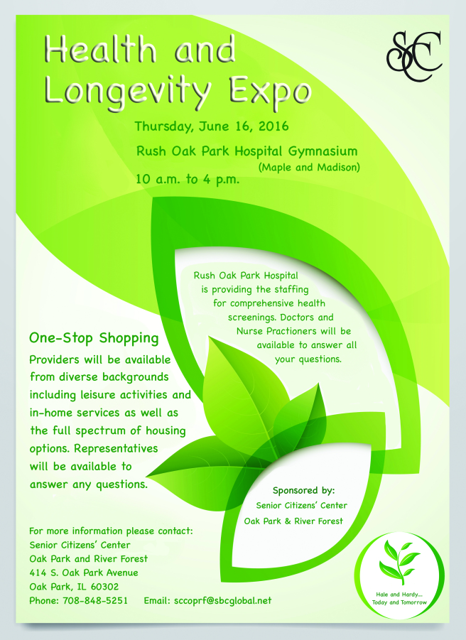 Health and Longevity Expo in Oak Park, Illinois