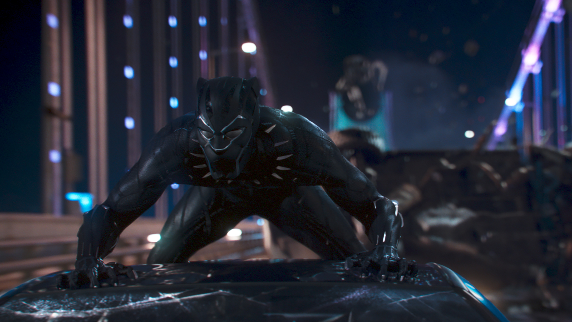Movie review: 'Black Panther' roars on the big screen
