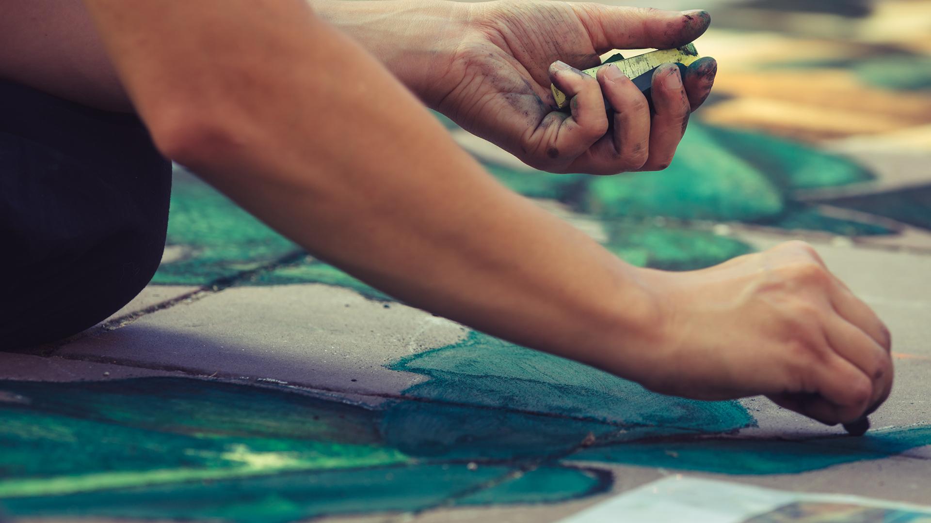 Arts Roundup: Sidewalk chalk contest, Airport Art, Harrington House, more