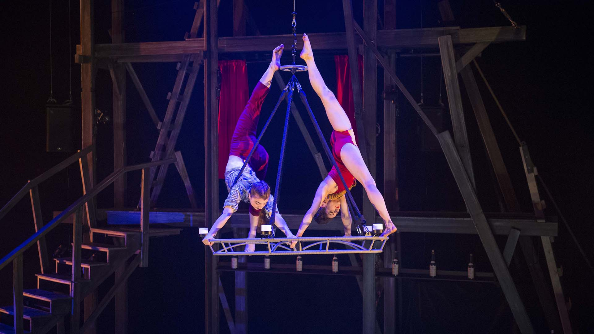 'Not just the circus, not just music': Cirque Eloize production 'is really a new beast,' says star
