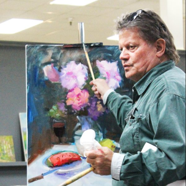 Painter Guido Frick will lead a workshop Oct. 31 to Nov. 2 at Amarillo Art Institute.