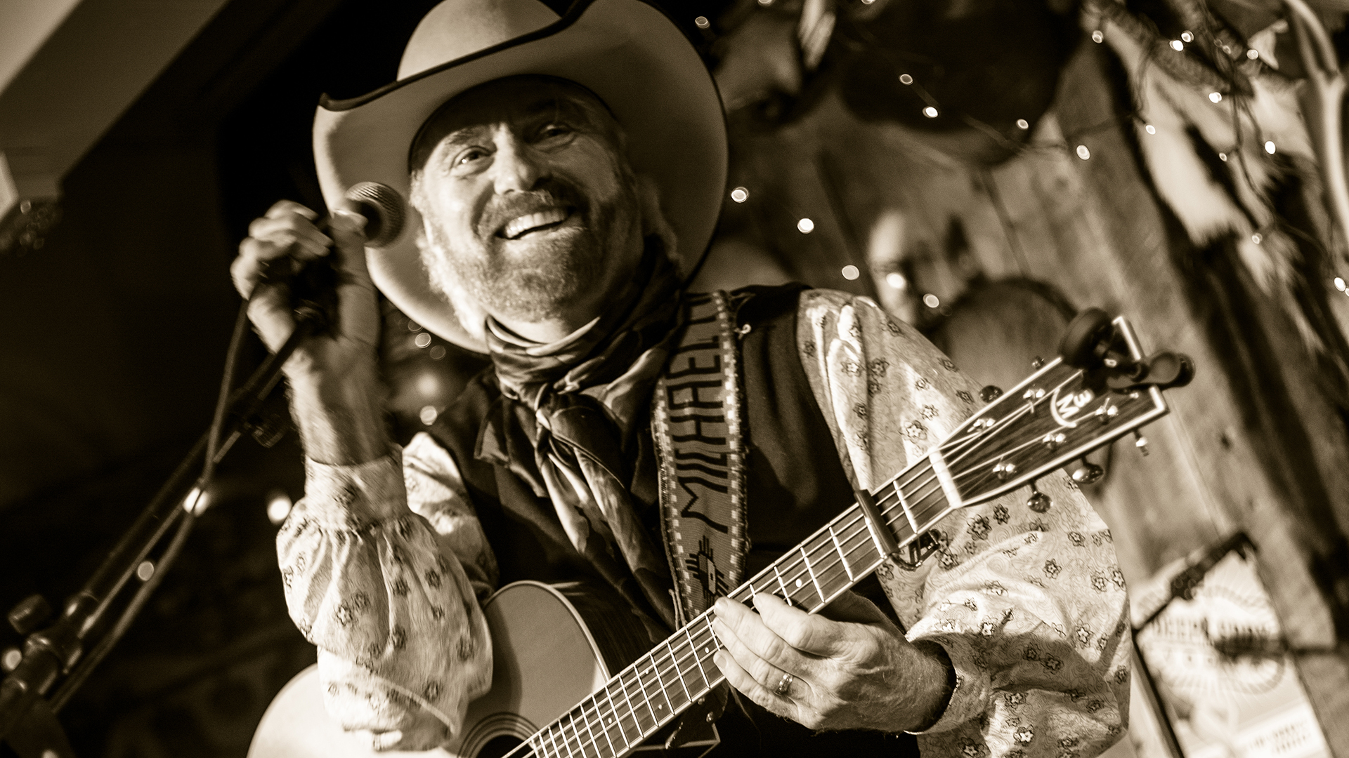 Michael Martin Murphey's connection with Amarillo Kwahadis is as personal as it gets