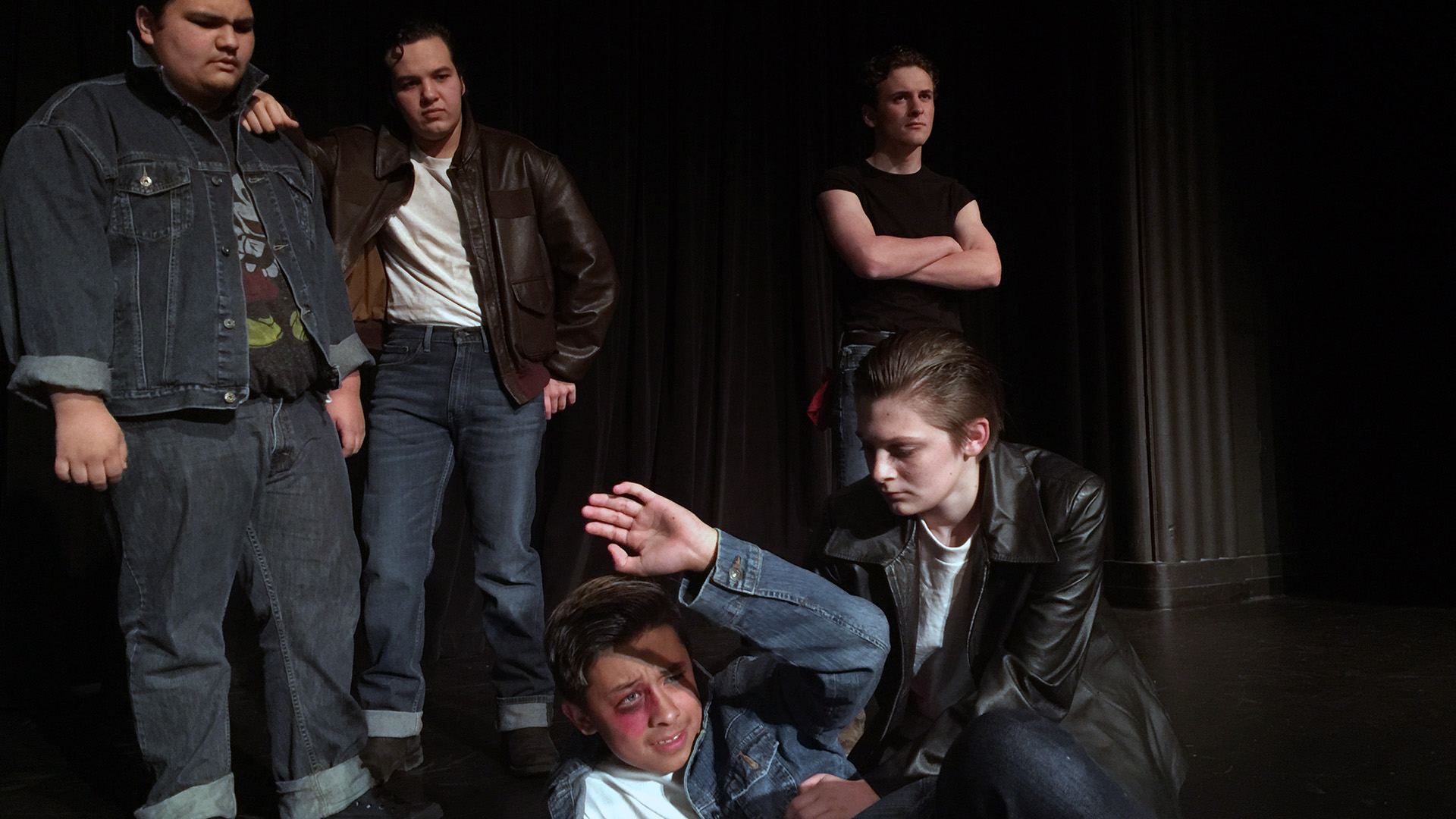AC Conservatory students 'stay gold' in 'Outsiders' stage play