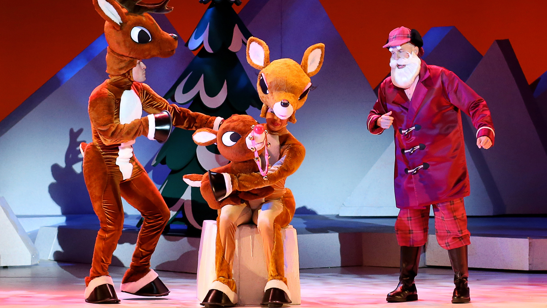 'Rudolph the Red-Nosed Reindeer' to fly into Civic Center in a holiday-season return