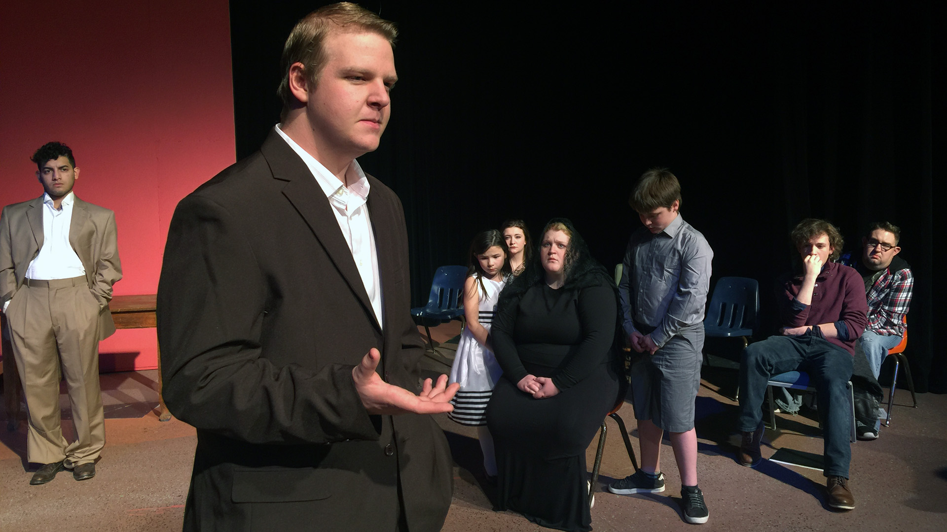 TheatreAC actors tackle absurdist challenge in 'Six Characters in Search of an Author'