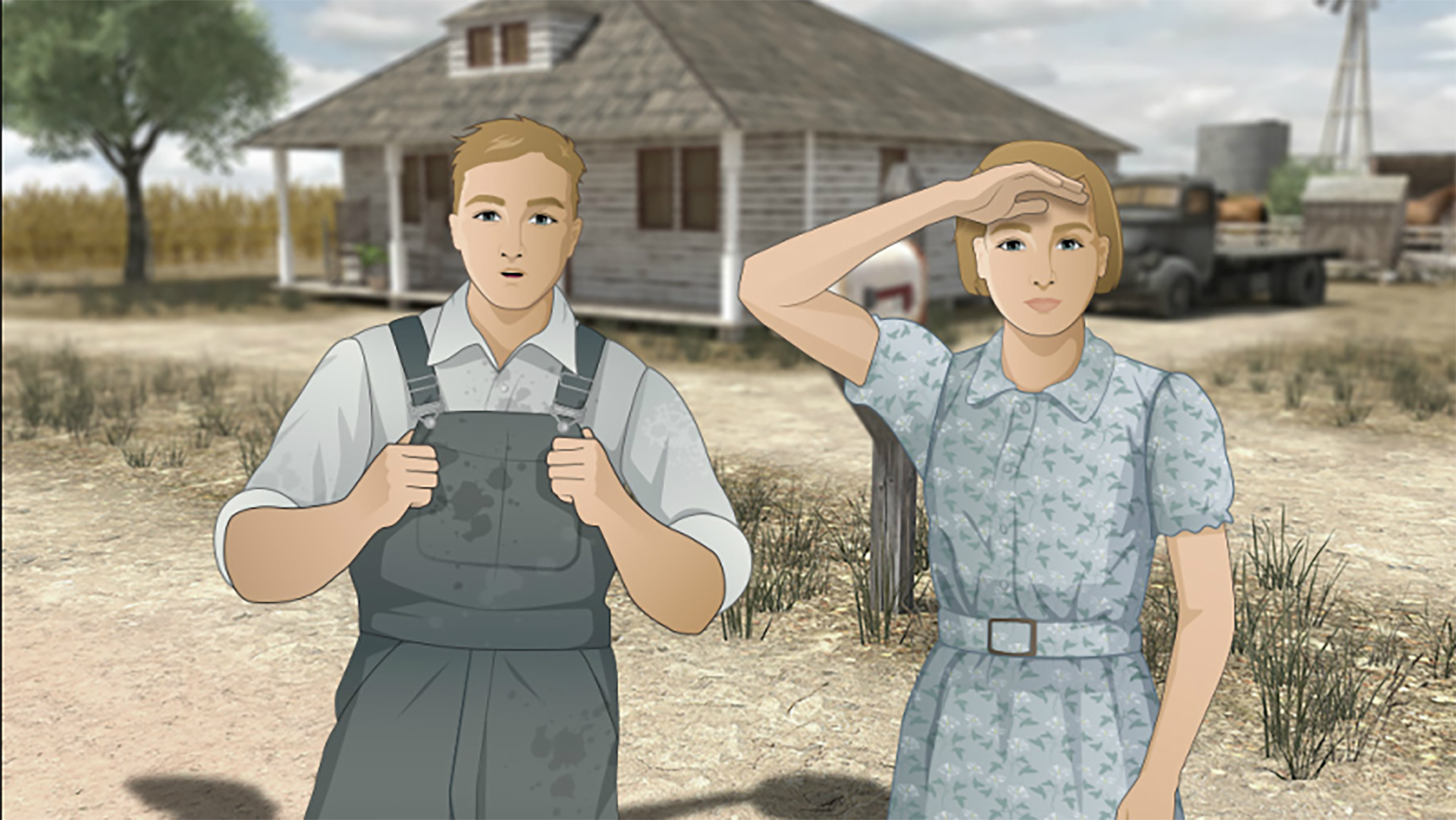 Young Amarillo actors voice educational online game about Dust Bowl