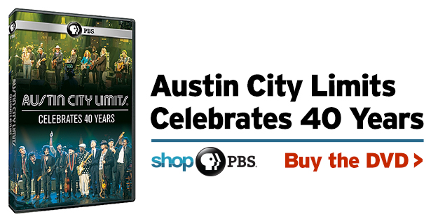 Shop PBS: Austin City Limits Celebrates 40 Years (DVD)