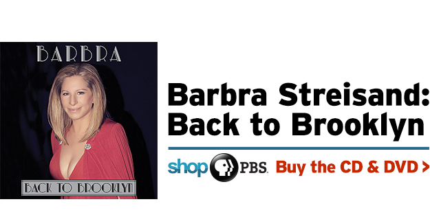 Shop PBS – Barbra Streisand: Back to Brooklyn (CD & DVD)