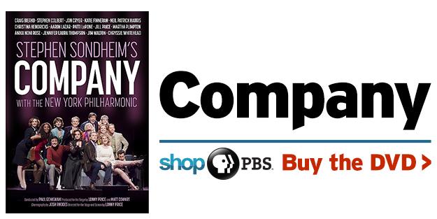 Shop PBS: Stephen Sondheim's Company (DVD)