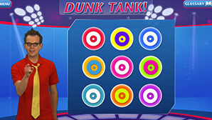 Cyberchase (Dunk Tank)  Interactive