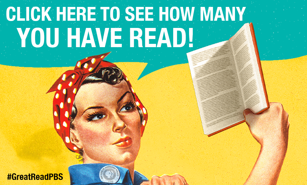 How many have you read? #GreatReadPBS