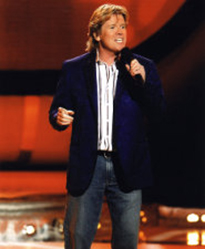 Co-host Peter Noone of Herman's Hermits