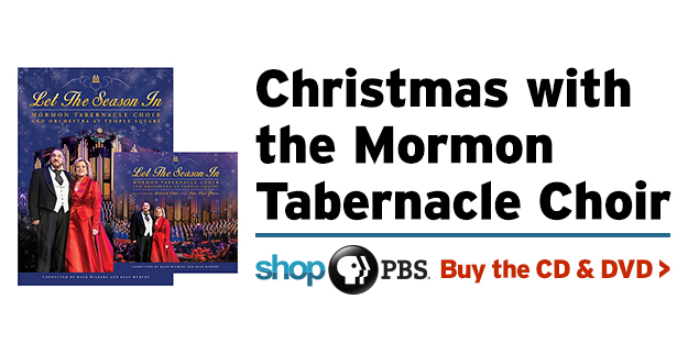 PBS Shop: Christmas with the Mormon Tabernacle Choir CD & DVD