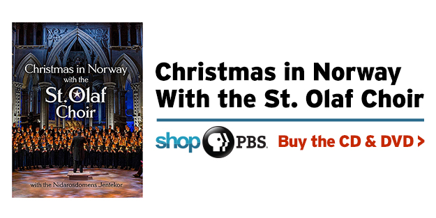 Shop PBS: Christmas in Norway with the St. Olaf Choir (CD and DVD)