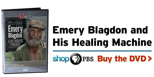 emery blagdon and his healing machine