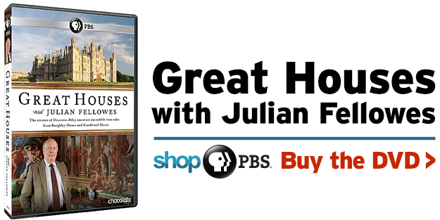 Shop PBS: Great Houses with Julian Fellowes (DVD)