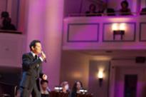 Michael Feinstein at the Palladium in Carmel, Indiana.