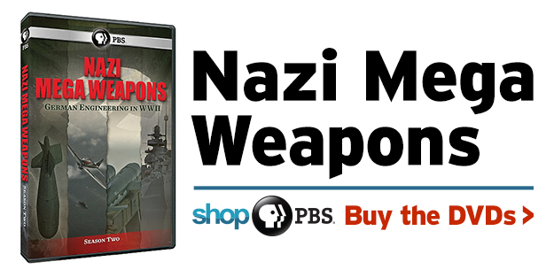 Shop PBS: Nazi Mega Weapons Season 2 DVD