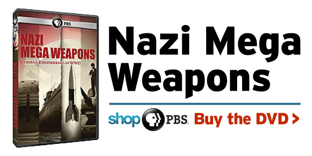 Shop PBS: Nazi Mega Weapons Season 1 DVD