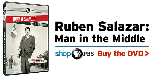 Shop PBS - Ruben Salazar: Man in the Middle (DVD)