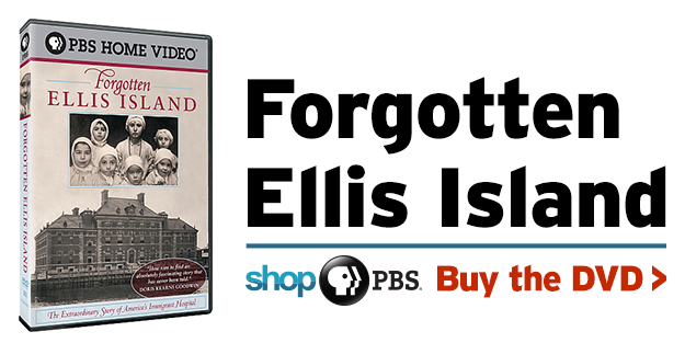 Shop PBS: Forgotten Ellis Island (DVD)