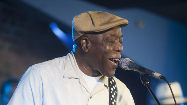 "Buddy Guy performs ""You Are My Sunshine"" at his club in Chicago."