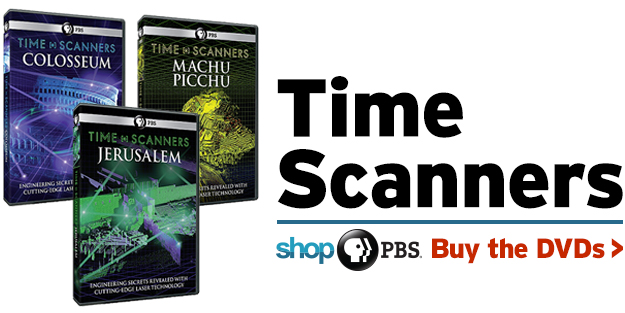 Shop PBS: Time Scanners (DVDs)