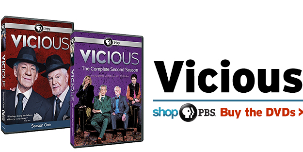 Shop PBS: Vicious (DVDs)